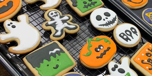 Halloween Sugar Cookie Decorating Workshop!