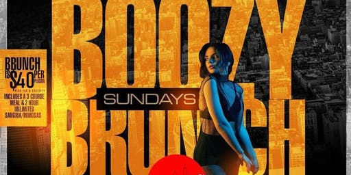 Boozy Brunch Sundays and Day Party at Jimmy's 38th