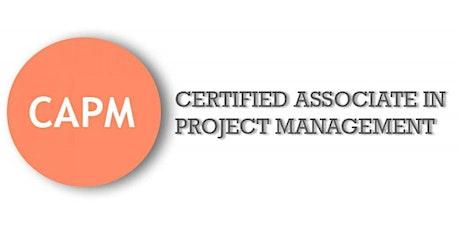 CAPM (Certified Associate In Project Management) Training in Regina, SK tickets