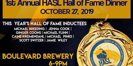 HASL Hall of Fame Dinner tickets