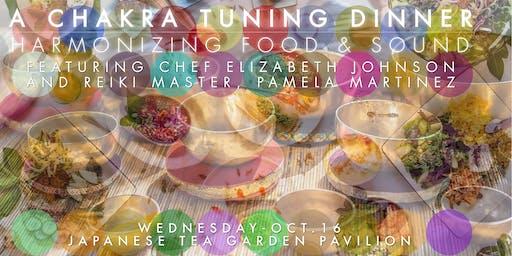 Chakra Tuning Dinner: Harmonizing Food & Sound
