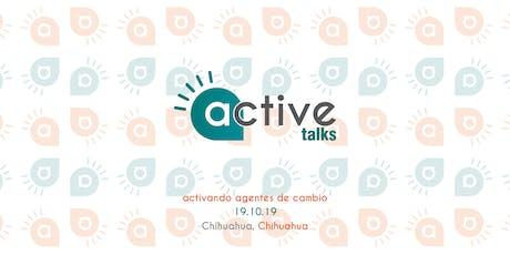 Active Talks 2019 - activando agentes de cambio entradas
