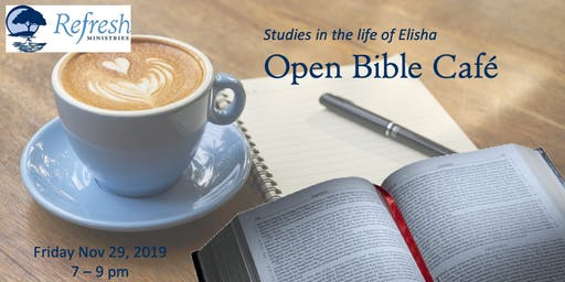 November Open Bible Cafe
