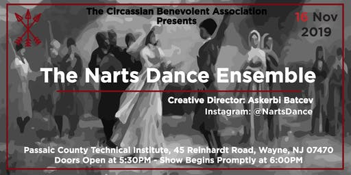 The Circassian Benevolent Association presents The Narts Dance Ensemble