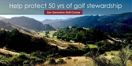 Save San Geronimo Golf Course - Fall Music Festival Fundraiser - featuring the band 'San Geronimo' tickets