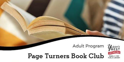 Page Turners - Book Club November 2019
