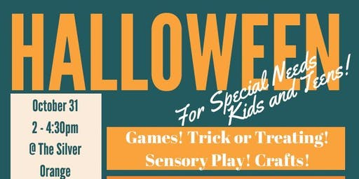 Halloween for Special Needs Kids and Teens