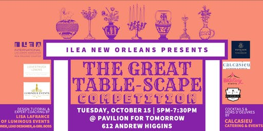 The Great Table-Scape Competition