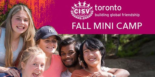 CISV Toronto Fall Mini Camp 2019
