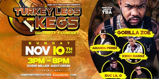 Turkey Legs and Kegs Day Party and Concert