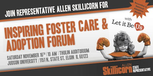 Foster Care and Adoption Forum Round Table by State Rep Allen Skillicorn