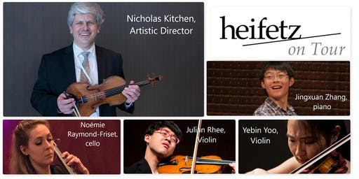 Heifetz On Tour 2019 at St. Andrew's Church, Newcastle ME