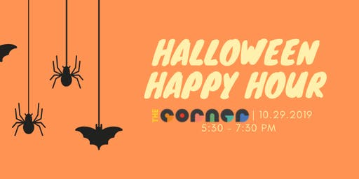 Halloween Happy Hour at The Corner