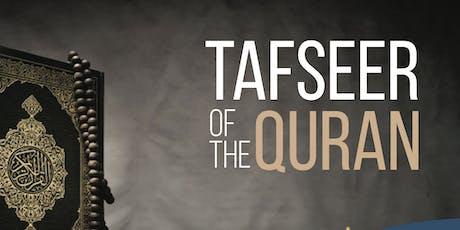 Tafseer of the Quran tickets