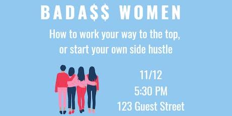 Be Well & Good Speaker Series: Bada$$ Women tickets