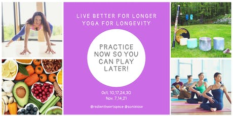 Yoga for Longevity -  Practice now so you can play later! tickets