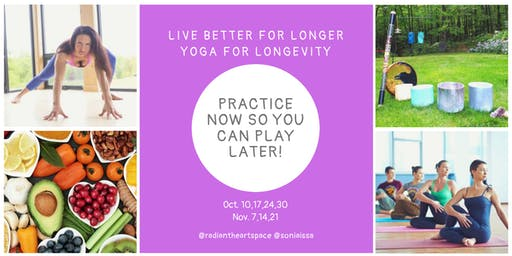 Yoga for Longevity -  Practice now so you can play later!