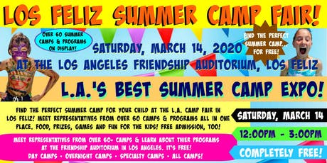L.A.Summer Camp Fair 2020 in Los Feliz tickets