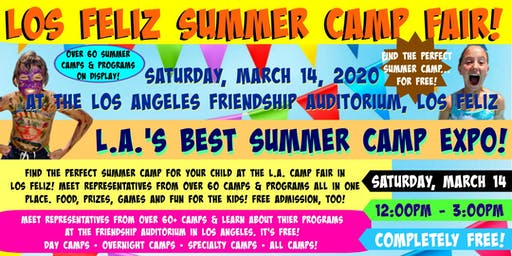 L.A.Summer Camp Fair 2020 in Los Feliz