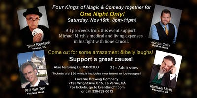 A Four-king Show: Comedy & Magic -LIVE!