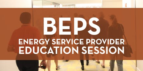 BEPS Energy Service Provider Education Session tickets