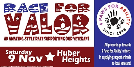 Race for Valor tickets