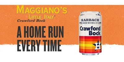 Maggiano's & Karbach Beer Dinner