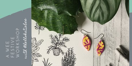 A Wee Festive Jewellery Workshop: Inspired by Nature with Hello Katie Bee tickets