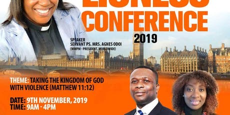 Warrior Wives Prayer Ministry, UK Presents,Lioness Conference -Europe 2019 tickets