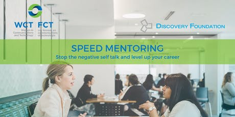 Speed Mentoring: Stop the Negative Self-Talk and Level Up Your Career tickets