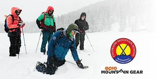 Avalanche Awareness Clinic (FREE) – Epic Mountain Gear Frisco