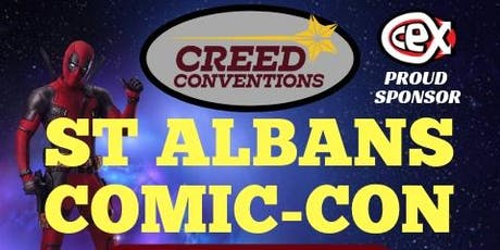 St Albans Comic-Con 2020 tickets
