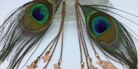 Magical Feathered Earrings Workshop tickets