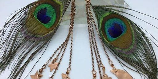 Magical Feathered Earrings Workshop