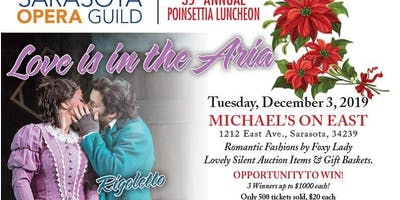 35th Annual Poinsettia Luncheon - Love Is In The Aria