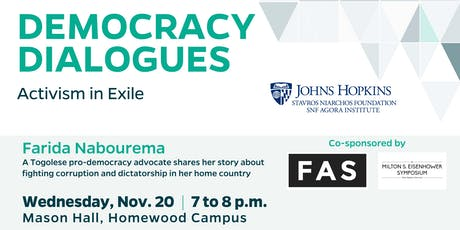 Activism in Exile, with Togolese pro-democracy advocate Farida Nabourema tickets