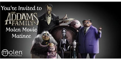 Free Molen Movie: The Addams Family (New!) tickets