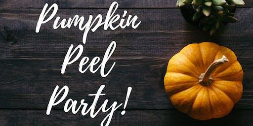 Pumpkin Peel Party!