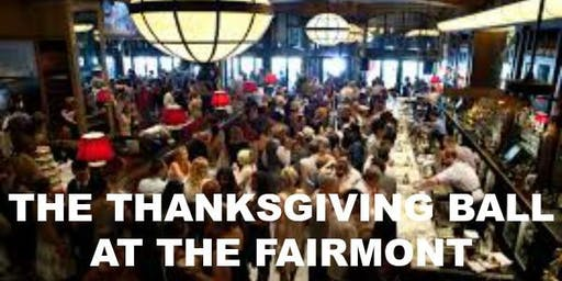 The Thanksgiving Ball at The Fairmont