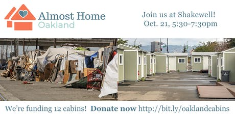 Almost Home: A Cabin Community Fundraiser - October 21, 2019 tickets