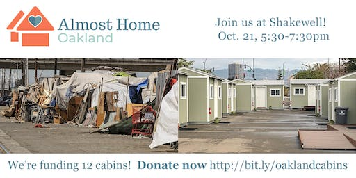 Almost Home: A Cabin Community Fundraiser - October 21, 2019