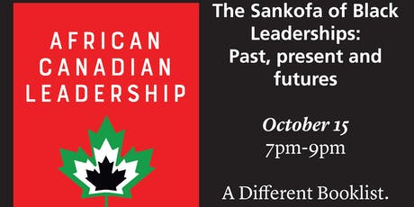 The Sankofa of Black Leaderships: Past, present and futures tickets