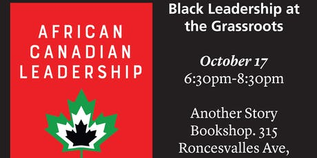 Black Leadership: A view from the grassroots tickets