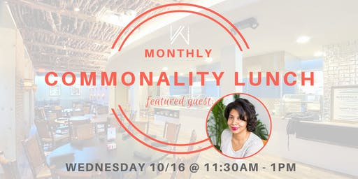 Women's Tech Co.  Commonality Lunch  - featuring Jacqueline Twillie