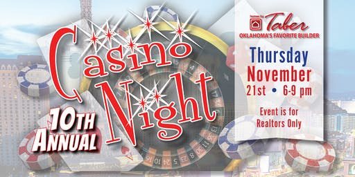 10th Annual, Homes by Taber Casino Night