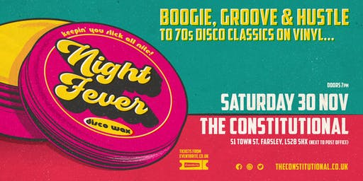 Night Fever - 70s Disco Classics All Night !