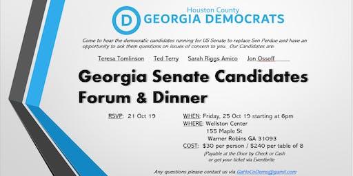 Houston County GA Senate Candidates Forum & Dinner