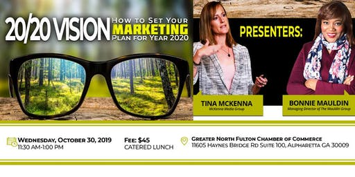 20/20 Vision: How to Set Your Marketing Plan for Year 2020