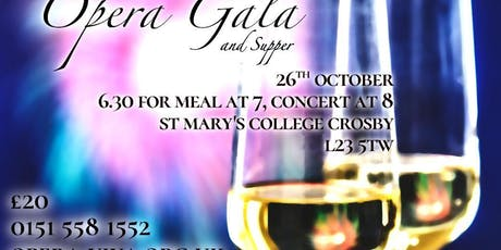 Opera Viva Gala with Supper tickets