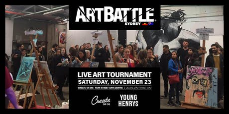 Art Battle Sydney - 23 November, 2019 tickets